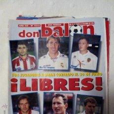 Coleccionismo deportivo: REVISTA DON BALÓN NÚMERO 1015 AÑO 1995. Lote 51612389