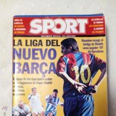 Coleccionismo deportivo: SUPLEMENTO SPORT LIGA ESPAÑOLA 2002-2003. Lote 51612693