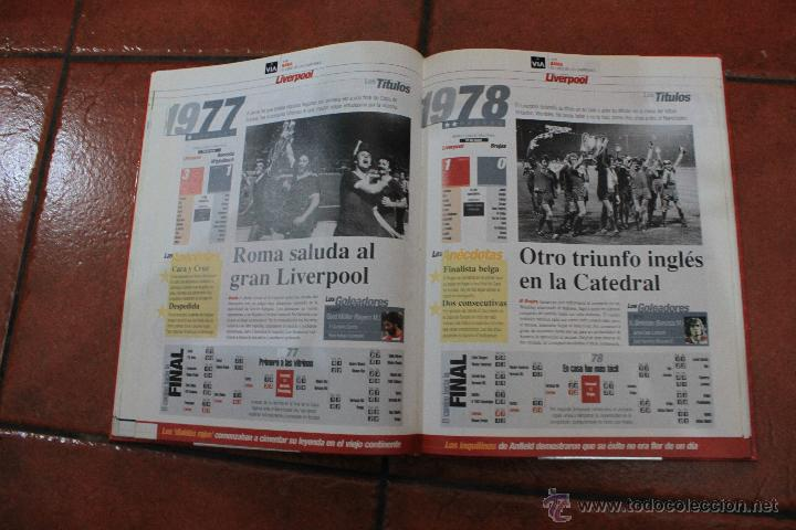 Coleccionismo deportivo: EL LIBRO DE LOS CAMPEONES DE EUROPA 1955-2000 - Foto 4 - 39495033