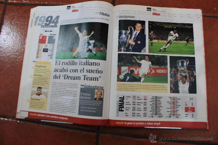 Coleccionismo deportivo: EL LIBRO DE LOS CAMPEONES DE EUROPA 1955-2000 - Foto 5 - 39495033