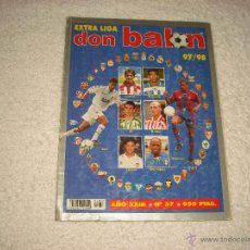 Coleccionismo deportivo: DON BALON , N. 37 EXTRA LIGA 97 / 98. Lote 51652759