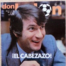Coleccionismo deportivo: DON BALON Nº288 ABRIL 1981. ALFONSO CABEZA. ITO UD SALAMANCA. FUTBOL VINTAGE. Lote 51676176