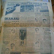Coleccionismo deportivo: PERIÓDICO MARCA DEL AÑO 1949 FALTA LA PÁGINA DE LA PORTADA. Lote 51931574