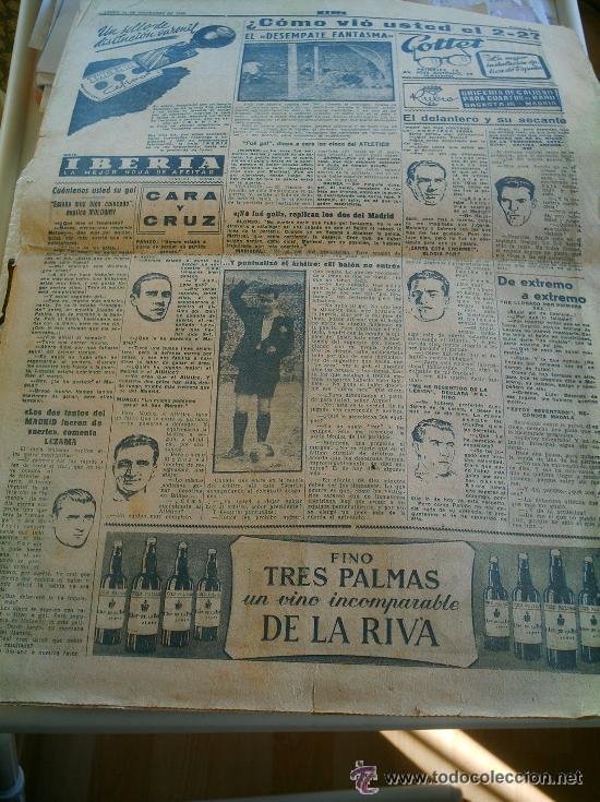 Coleccionismo deportivo: PERIÓDICO MARCA DEL AÑO 1949 FALTA LA PÁGINA DE LA PORTADA - Foto 2 - 51931574