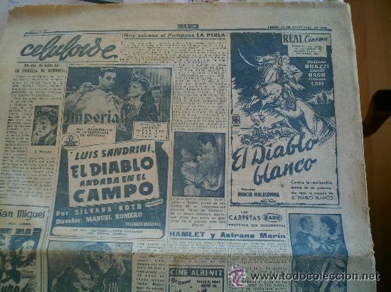 Coleccionismo deportivo: PERIÓDICO MARCA DEL AÑO 1949 FALTA LA PÁGINA DE LA PORTADA - Foto 5 - 51931574