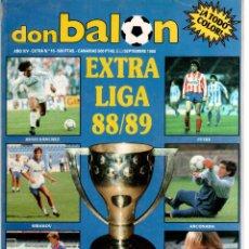 Coleccionismo deportivo: DON BALON EXTRA DE LA LIGA 88/89. Lote 51968596
