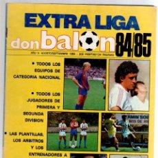 Coleccionismo deportivo: DON BALON EXTRA DE LA LIGA 84/85. Lote 51968603