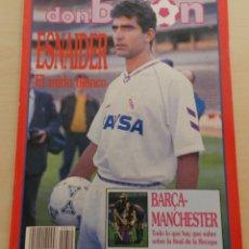 Coleccionismo deportivo: DON BALON Nº 810 ESPECIAL FINAL RECOPA DE EUROPA 90/91 FC BARCELONA UNITED POSTER 1991 FINALISTA. Lote 51996188