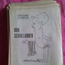 Colecionismo desportivo: DON SCHOLLANDER (NATACIÓN): SUPLEMENTO BIOGRÁFICO DE MARCA. AÑOS 60. Lote 52002708