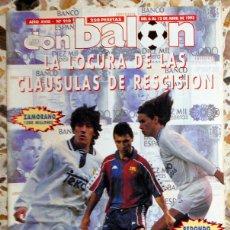 Coleccionismo deportivo: DON BALON Nº910 ABRIL 1993 POSTER JULEN GUERRERO ATHLETIC CLUB BILBAO. STOICHKOV. FUTBOL VINTAGE. Lote 52124018