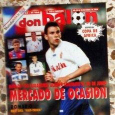 Coleccionismo deportivo: DON BALON Nº960 MARZO 1994 POSTER CAÑIZARES CELTA DE VIGO. POYET REAL ZARAGOZA. FUTBOL VINTAGE. Lote 52124651