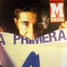 Coleccionismo deportivo: DOCUMENTO MARCA ASCENSO REAL ZARAGOZA PRIMERA DIVISION JUNIO 2003 CANI. Lote 52301541