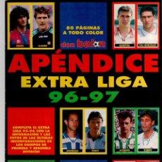 Coleccionismo deportivo: EXTRA LIGA DON BALON APENDICE 96/97. Lote 52302892
