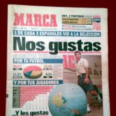 Coleccionismo deportivo: DIARIO DEPORTIVO MARCA - 23 JUNIO 1994. Lote 52364003