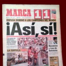 Coleccionismo deportivo: DIARIO DEPORTIVO MARCA - 22 JUNIO 1994. Lote 58492486