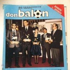 Colecionismo desportivo: REVISTA DON BALON Nº 634, 8-14 DICIEMBRE 1987, POSTER SELECCION ESPAÑOLA.. Lote 52383488