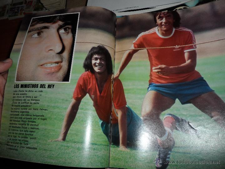 Coleccionismo deportivo: DON BALON Nº 116 1977 REPORTAJE COLOR KEMPES VALENCIA DIARTE ZARAGOZA CARDEÑOSA REAL BETIS - Foto 3 - 38441194