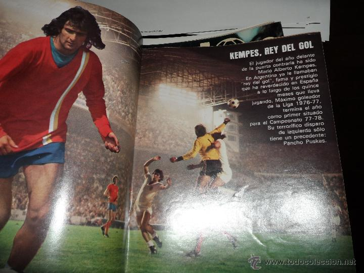 Coleccionismo deportivo: DON BALON Nº 116 1977 REPORTAJE COLOR KEMPES VALENCIA DIARTE ZARAGOZA CARDEÑOSA REAL BETIS - Foto 4 - 38441194