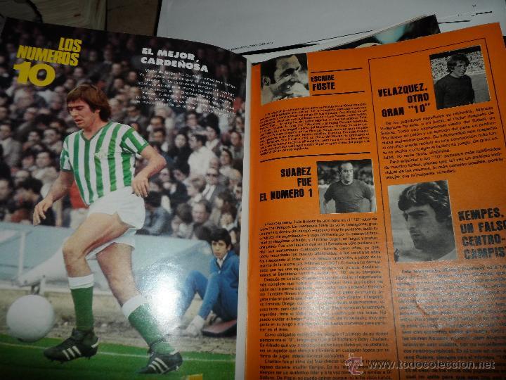 Coleccionismo deportivo: DON BALON Nº 116 1977 REPORTAJE COLOR KEMPES VALENCIA DIARTE ZARAGOZA CARDEÑOSA REAL BETIS - Foto 5 - 38441194