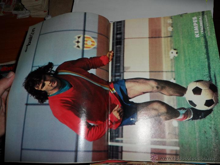 Coleccionismo deportivo: DON BALON Nº 123 1977 REPORTAJE COLOR URRUTICOECHEA REAL SOCIEDAD POSTER CENTRAL KEMPES VALENCIA - Foto 2 - 38449200