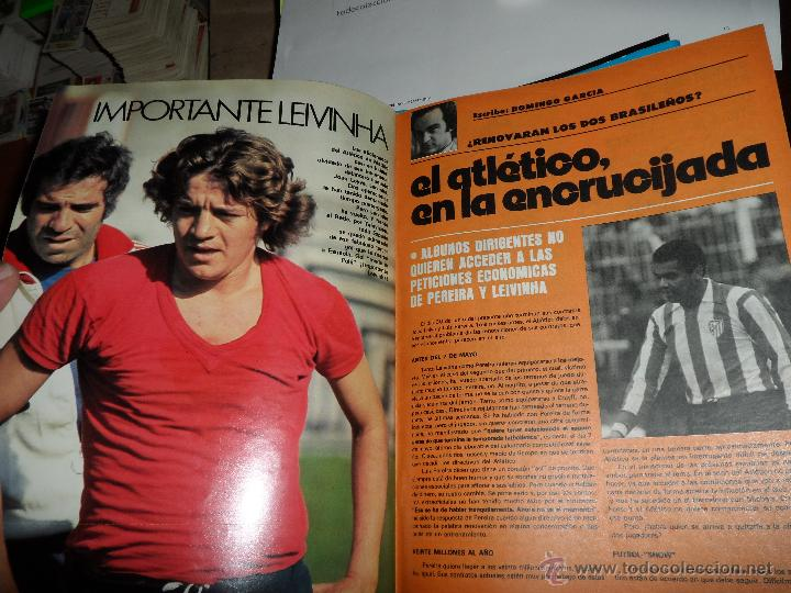 Coleccionismo deportivo: DON BALON Nº 123 1977 REPORTAJE COLOR URRUTICOECHEA REAL SOCIEDAD POSTER CENTRAL KEMPES VALENCIA - Foto 6 - 38449200
