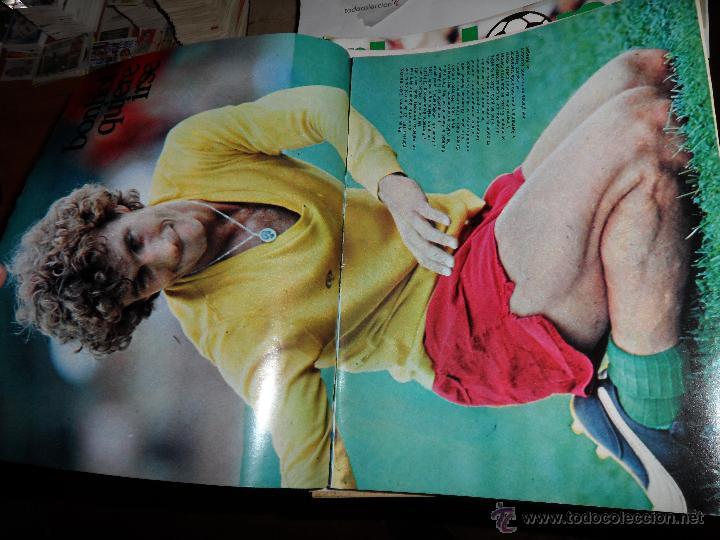 Coleccionismo deportivo: DON BALON Nº 216 1979 REPORTAJE COLOR ZURDOS DE ORO MARAÑON ROJO FERRERO DANI BONHOFF VALENCIA - Foto 2 - 38814689