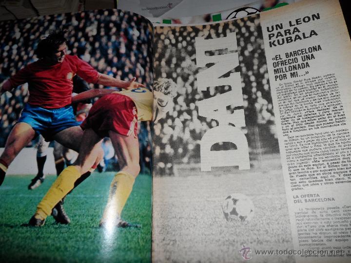 Coleccionismo deportivo: DON BALON Nº 216 1979 REPORTAJE COLOR ZURDOS DE ORO MARAÑON ROJO FERRERO DANI BONHOFF VALENCIA - Foto 3 - 38814689