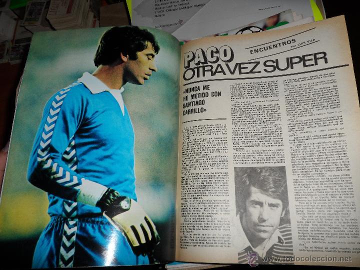 Coleccionismo deportivo: DON BALON Nº 216 1979 REPORTAJE COLOR ZURDOS DE ORO MARAÑON ROJO FERRERO DANI BONHOFF VALENCIA - Foto 4 - 38814689