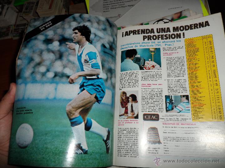 Coleccionismo deportivo: DON BALON Nº 216 1979 REPORTAJE COLOR ZURDOS DE ORO MARAÑON ROJO FERRERO DANI BONHOFF VALENCIA - Foto 6 - 38814689