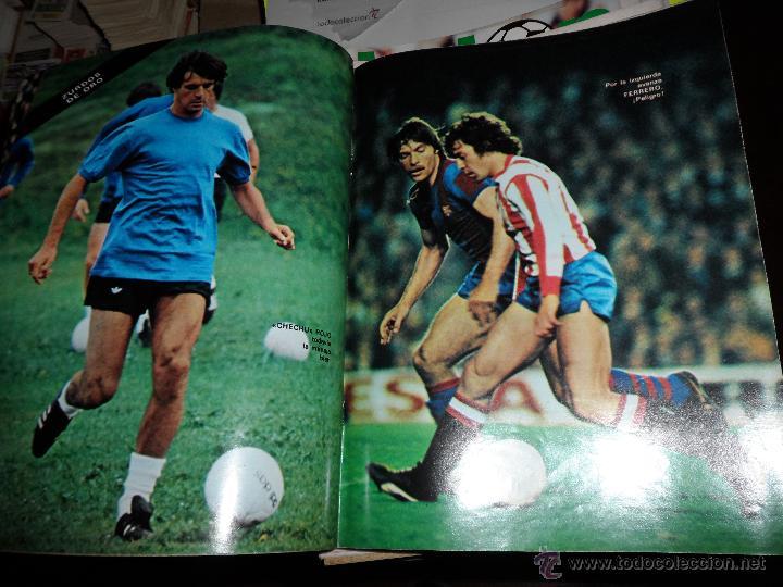 Coleccionismo deportivo: DON BALON Nº 216 1979 REPORTAJE COLOR ZURDOS DE ORO MARAÑON ROJO FERRERO DANI BONHOFF VALENCIA - Foto 7 - 38814689