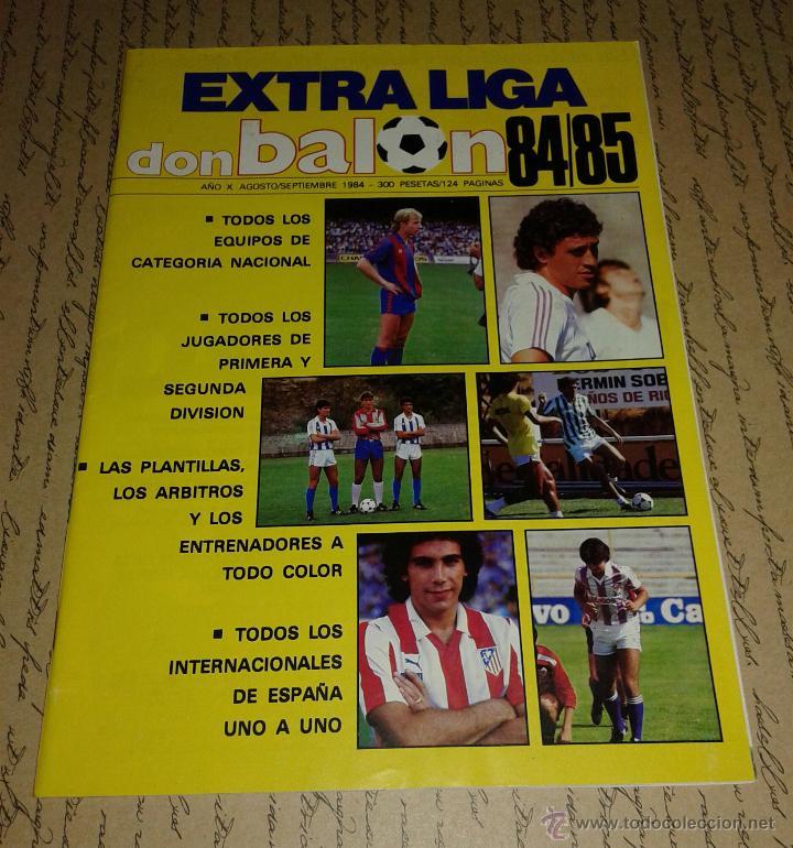 DON BALON EXTRA LIGA 84/85 (Coleccionismo Deportivo - Revistas y Periódicos - Don Balón)