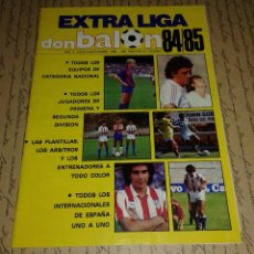 Coleccionismo deportivo: DON BALON EXTRA LIGA 84/85. Lote 52449823
