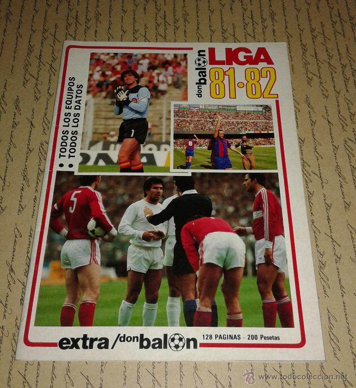 DON BALON EXTRA LIGA 81/82 (Coleccionismo Deportivo - Revistas y Periódicos - Don Balón)