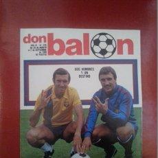 Colecionismo desportivo: DON BALON 255 AÑO 1980. QUINI Y KRANKL. FC BARCELONA BARÇA. Lote 52571175
