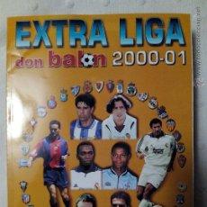 Coleccionismo deportivo: DON BALÓN EXTRA LIGA 2000-01. Lote 52632742