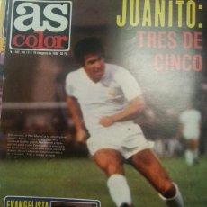 Coleccionismo deportivo: EJEMPLAR AS COLOR NUMERO 482. 12 AGOSTO 1980 IMPECABLE. POSTER ABASCAL Y NOGUER VELA. Lote 52641942