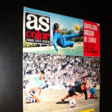 Coleccionismo deportivo: AS COLOR Nº 36 25-01-1972 / POSTER JOSE EULOGIO GARATE ATLETICO DE MADRID. Lote 52659982