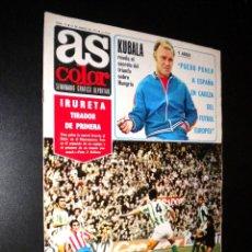 Coleccionismo deportivo: AS COLOR Nº 35 18-01-1972 / POSTER REAL C.D. MALLORCA. Lote 52660034