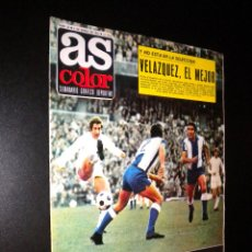 Coleccionismo deportivo: AS COLOR Nº 33 4-01-1972 / POSTER REAL OVIEDO. Lote 52662060