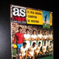 Coleccionismo deportivo: AS COLOR Nº 32 28-12-1971 / POSTER URTAIN, DOS VECES CAMPEON DE EUROPA. Lote 52662114