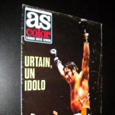 Coleccionismo deportivo: AS COLOR Nº 31 21-12-1971 / POSTER CULTURAL Y DEPORTIVA LEONESA. Lote 52662150