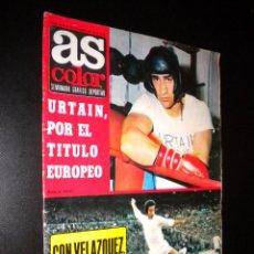 Coleccionismo deportivo: AS COLOR Nº 30 14-12-1971 / POSTER REAL ZARAGOZA C.D.. Lote 52662191