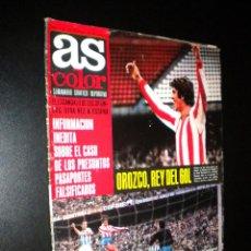 Coleccionismo deportivo: AS COLOR Nº 29 7-12-1971 / POSTER ELCHE C.F.. Lote 52662240