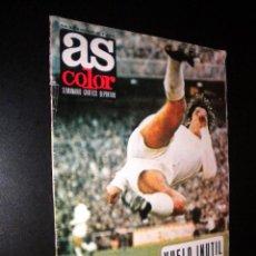 Coleccionismo deportivo: AS COLOR Nº 28 30-11-1971 / POSTER C.D. CASTELLON. Lote 52662293