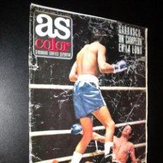 Coleccionismo deportivo: AS COLOR Nº 25 9-11-1971 / POSTER UNION DEPORTIVA LAS PALMAS. Lote 52662473
