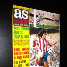 Coleccionismo deportivo: AS COLOR Nº 21 12-10-1971 / POSTER REAL BETIS BALOMPIE. Lote 52662583