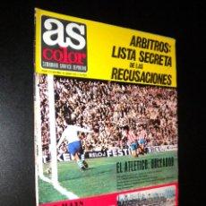 Coleccionismo deportivo: AS COLOR Nº 4 15-06-1971 / POSTER VALENCIA CLUB DE FUTBOL. Lote 52663084