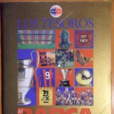 Coleccionismo deportivo: LOS TESOROS DEL BARÇA. 1899-1999. EL MUNDO DEPORTIVO. 80 PAGINAS. COMPLETO. 450 GRAMOS.. Lote 52670919