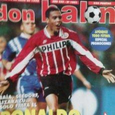 Coleccionismo deportivo: DON BALON RONALDO ESTOY LOCO POR IR AL BARCA . Lote 52876353