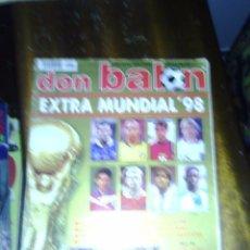 Coleccionismo deportivo: LOTE DE EXTRAS DON BALÓN MARCA, AS, MUNDO DEPORTIVO, PC FUTBOL ( 10 REVISTAS ). Lote 176815053